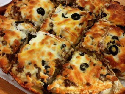 پیتزا های دوطبقه بولونیا