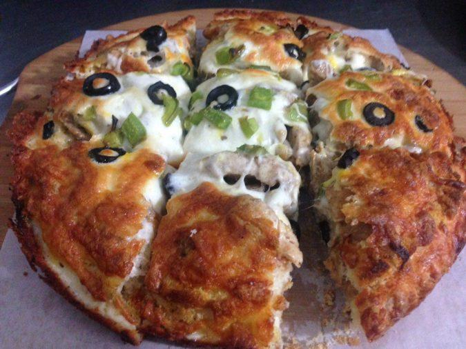 پیتزا های دو طبقه میلانو 22 سانتی متر