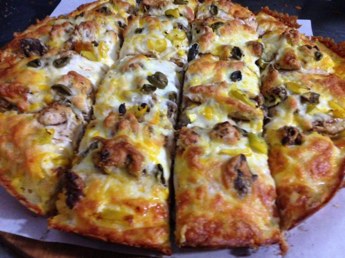 پیتزا پالرمو 32 سانتی متری